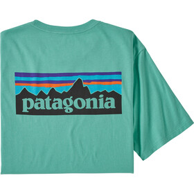 Patagonia P-6 Logo Organic T-Shirt Men light beryl green